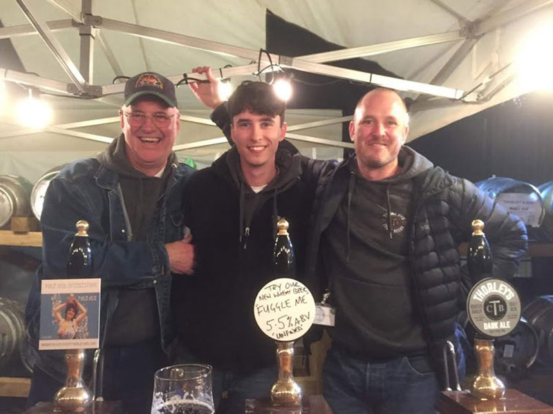Three generations of the Thorley Family - Thorleys Craft Beers, Derbyshire